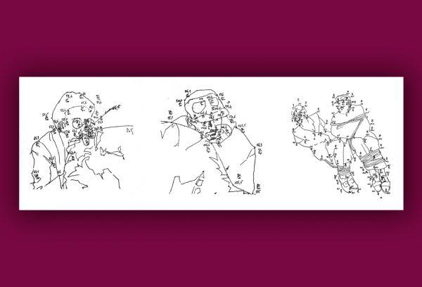 La Salle du chiffre de Jean Le Gac Parution : 2017 Format : 10, 5 x 11, 5 cm, 22 pages. Edition originale en accordéon imprimé sur Gravure du Moulin de Larroque, signé par Jean Le Gac (40 exemplaires).