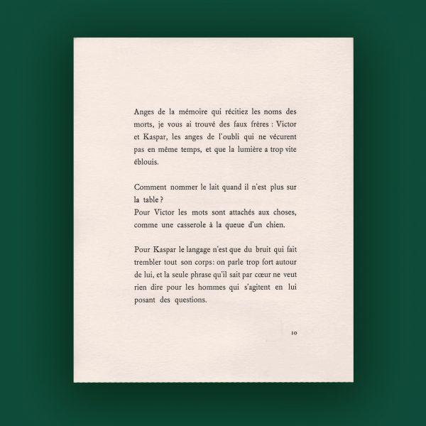 Gérard Macé : Deux anges de l'oubli