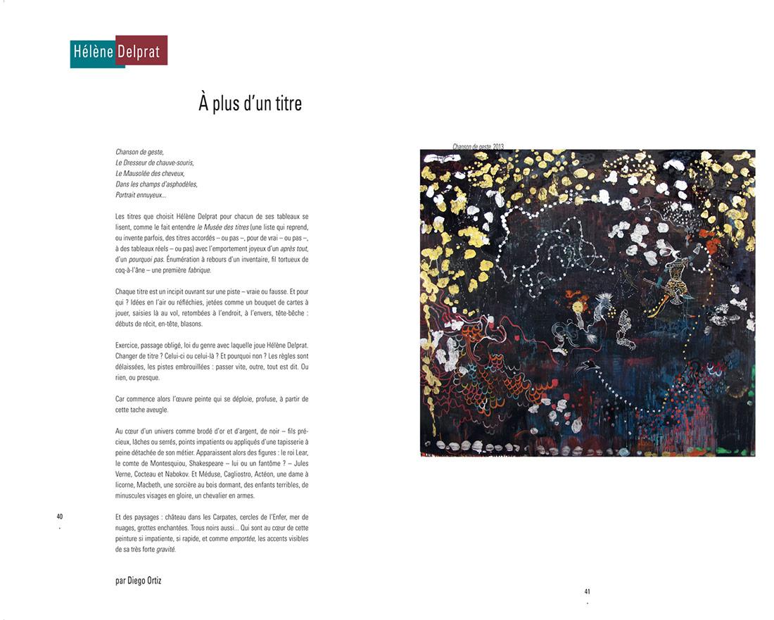 La Pionniere, revue N°5, Helene Delprat
