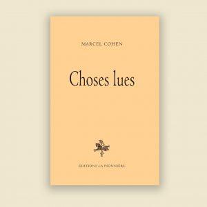 Choses lues image 1
