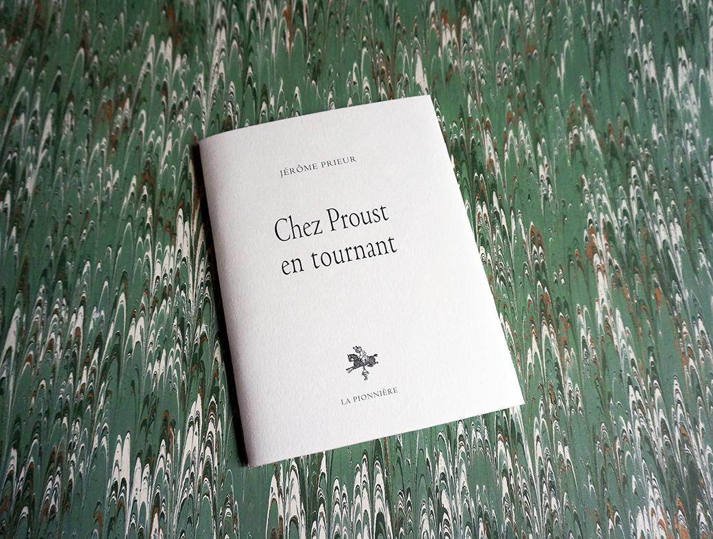Chez Proust, en tournant (2016) de Jérôme Prieur - Tirage de têteChez Proust tete