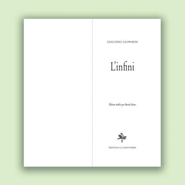 L'Infini image 2