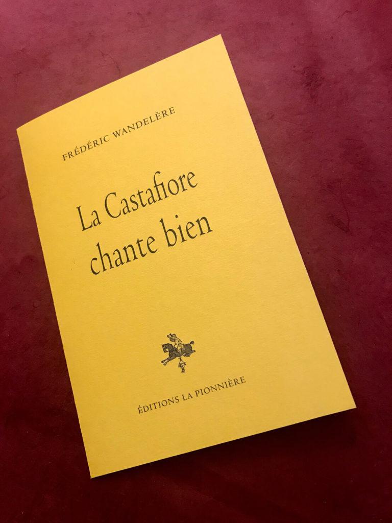 « La Castafiore chante bien » de Frédéric Wandelère - Tirage de tête