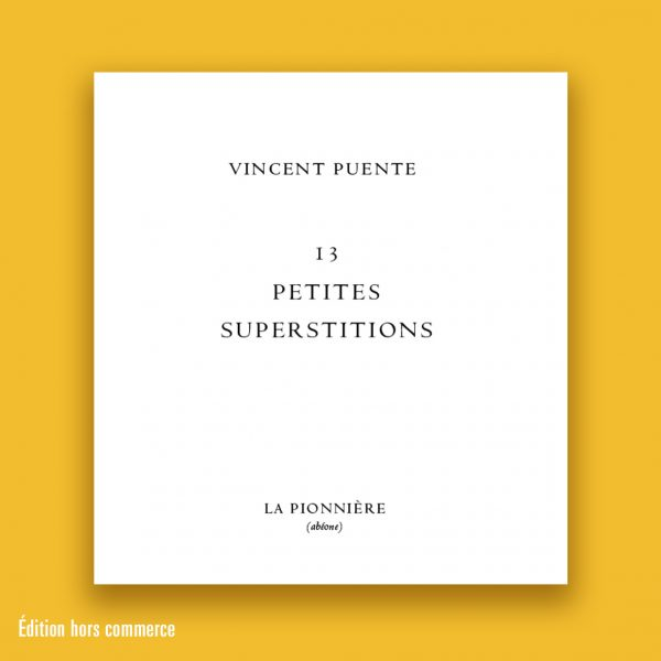 Superstitions couv