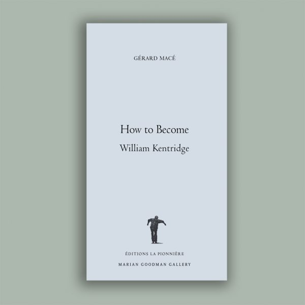 Gérard Macé : How to become William Kentridge