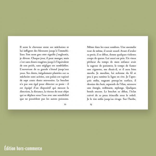 Le Brochet, Franck Maubert, Éditions La Pionnière